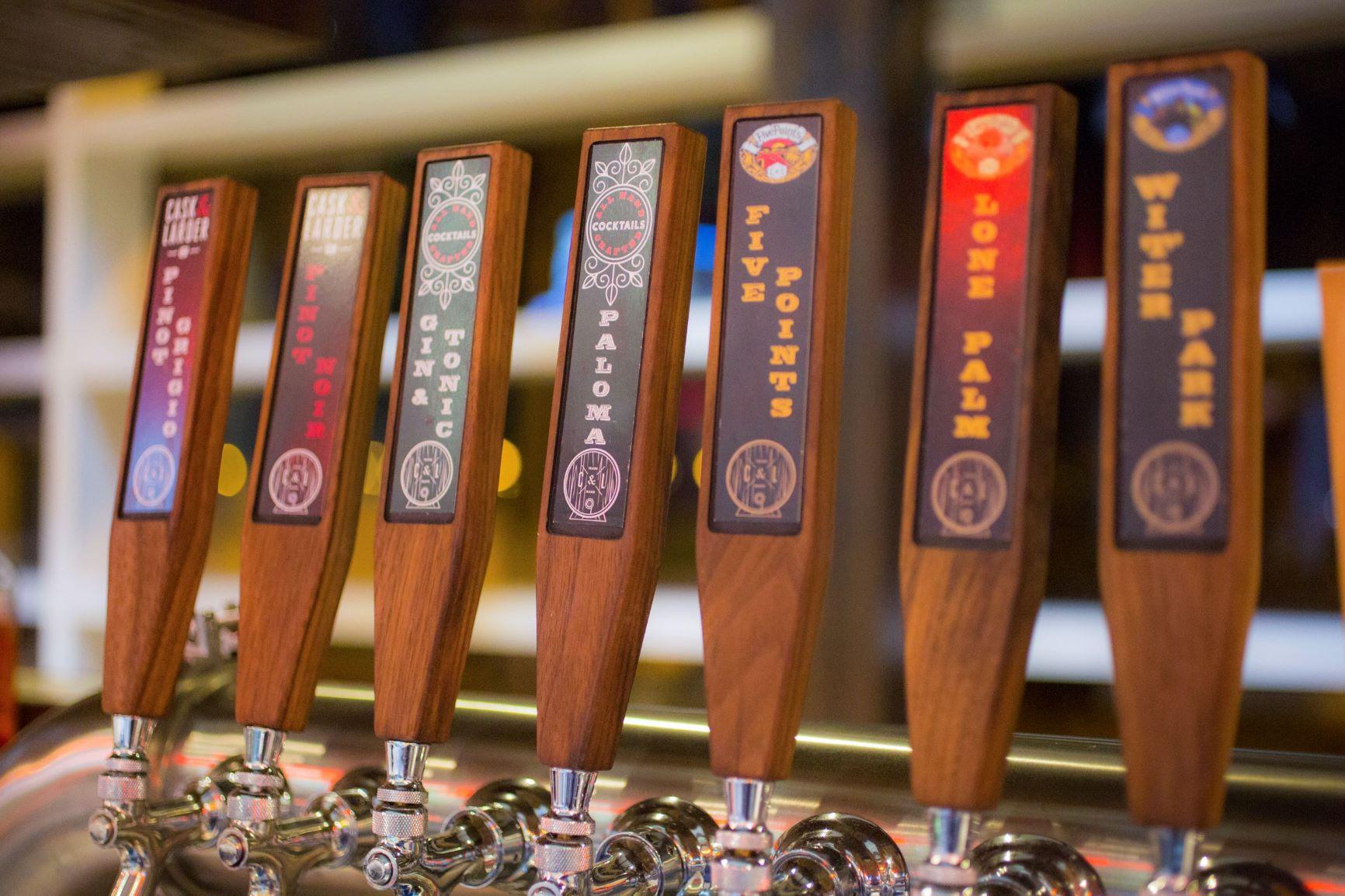 Cask & Larder Beer Taps