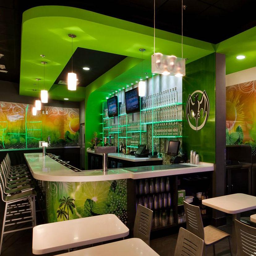 Bacardi Miami restaurant design
